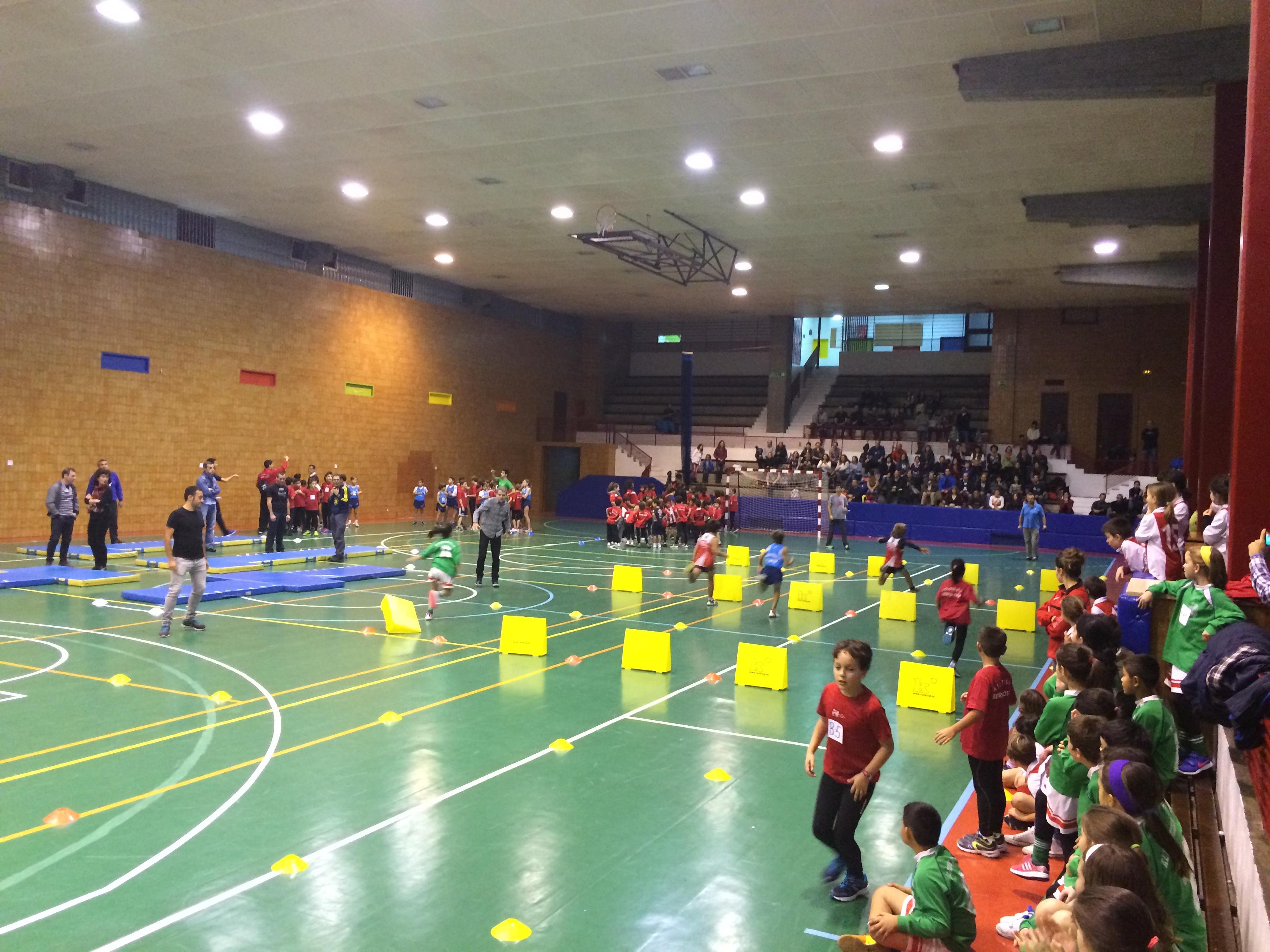Sedes 2ª jornada Atletismo Txikia